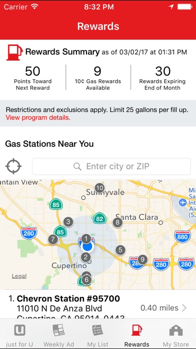 Safeway review screenshots