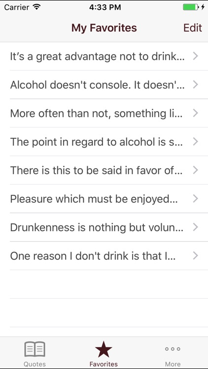 Stop Drinking Quotes screenshot-3