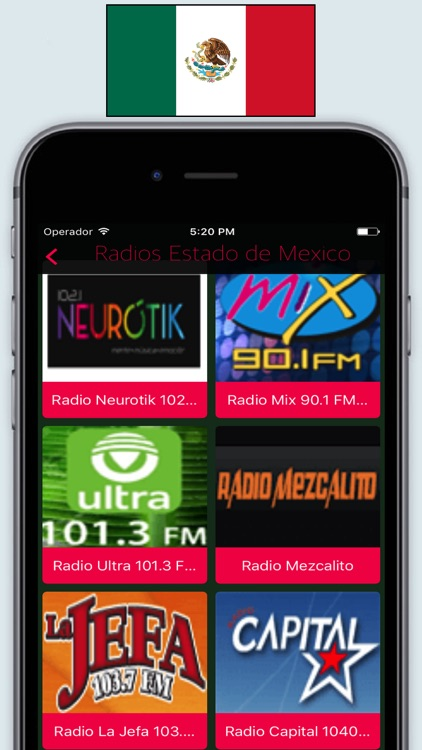 Radio Mexico FM AM - Live Radios stations Online screenshot-2
