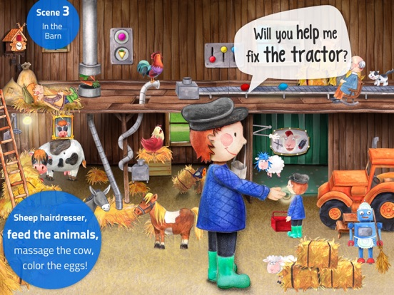 Tiny Farm: Animals & Tractor Screenshots