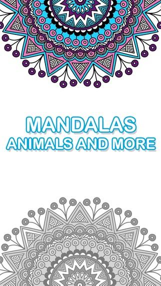 大人の塗り絵 - 無料マンダラ カラーセラピー ・大人のためのページを緩和応力スクリーンショット1