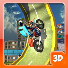 Activities of Roof Jumping Bike Parking - Stunt Driving