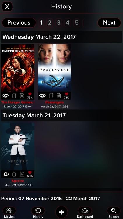 Kyra for Trakt: Movies edition screenshot-3
