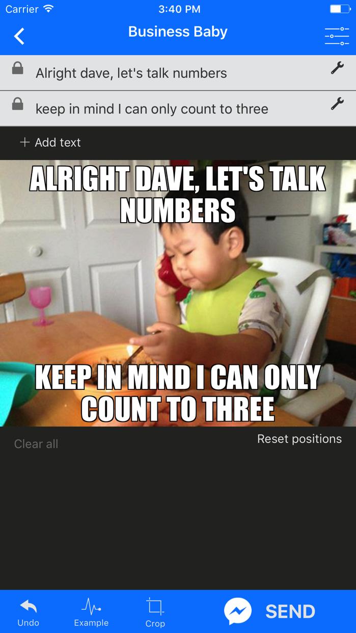 Memes for Messenger Screenshot