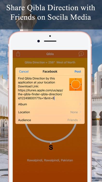 Qibla Compas - Locator, Finder screenshot-3