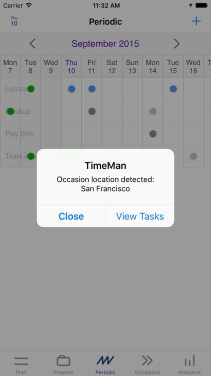 TimeMan screenshot-3