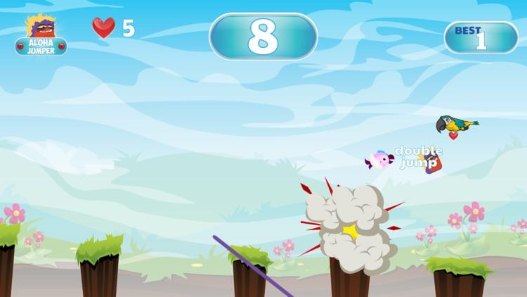 Aloha Jumper Adventures - Moana Friend in Jungle screenshot-3