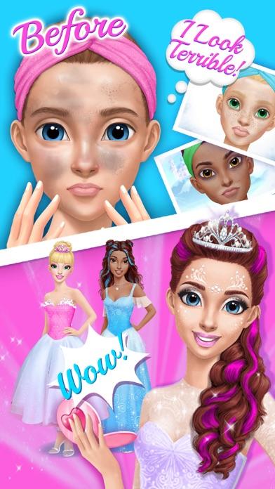 Princess Gloria Makeup Salon - No Ads screenshot 2