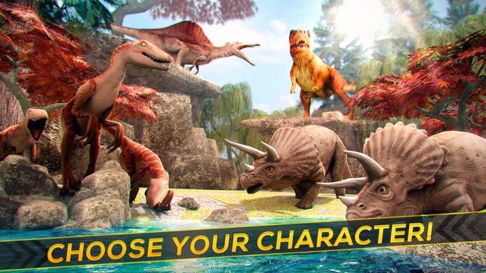 Jurassic Dinos . Free Dinosaur Simulator Games Screenshot