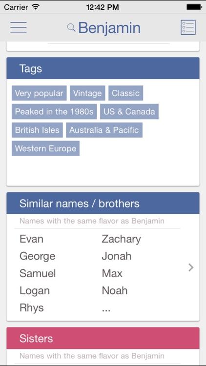 Baby Names by Nametrix [Free]