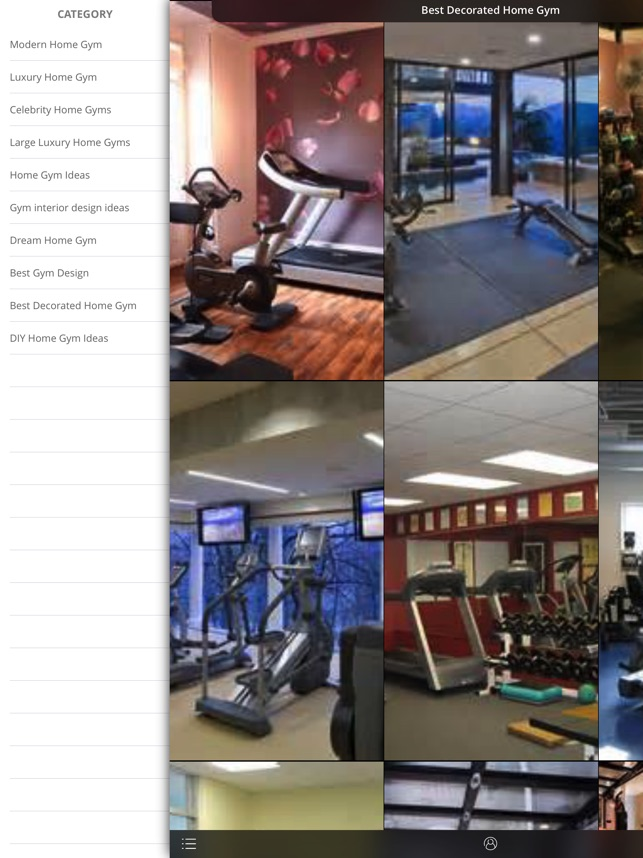 gym design ideas on the App Store