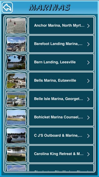 South Carolina State Marinas