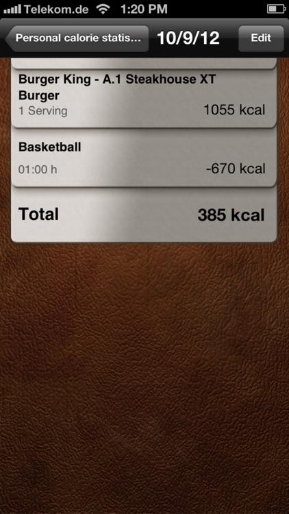 Calorie Calculator Pro screenshot-4
