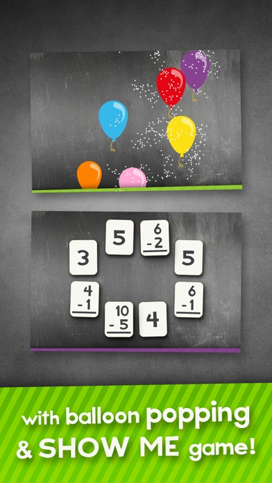 Subtraction Flash Cards Math Games for Kids Free-1