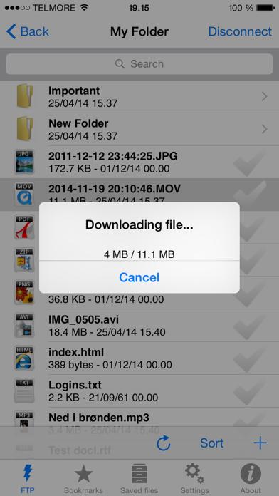 FTP Client Pro screenshot1