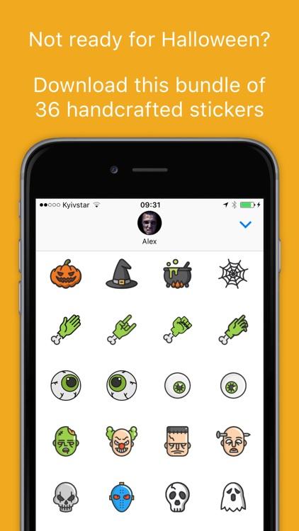 iHalloween stickers - Scary Halloween Sticker Pack screenshot-4