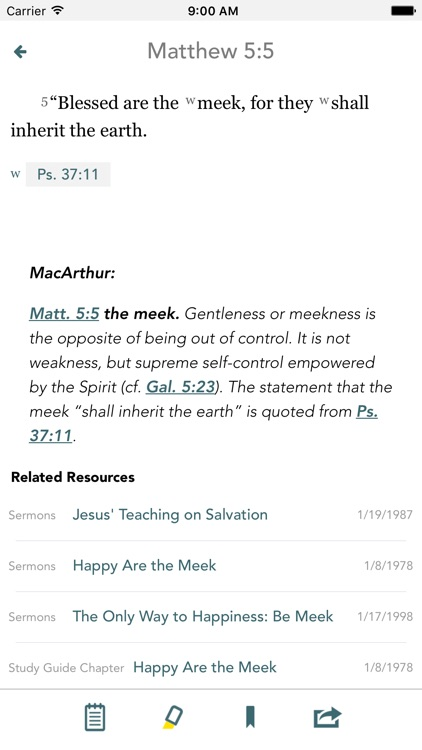 The Study Bible screenshot-1