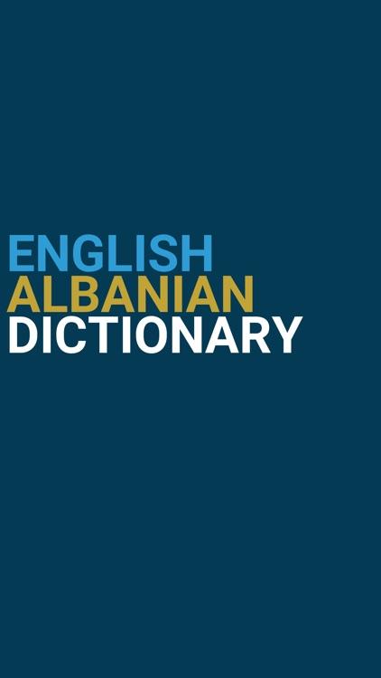 English : Albanian Dictionary