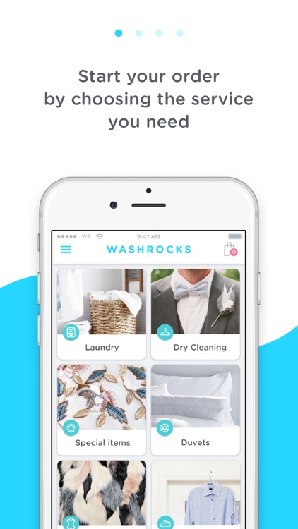 WASHROCKS - Laundry delivery