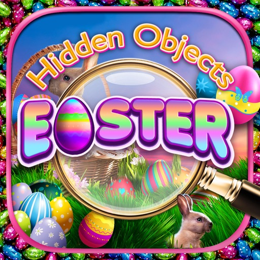 Easter Spring Gardens - Hidden Objects