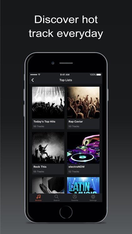 Premium Music Search for iPhone Premium screenshot-0