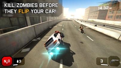 ゾンビロードハイウェイ:無料レーシング&シューティングゲームのスクリーンショット2