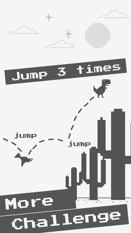 Jumping TRex