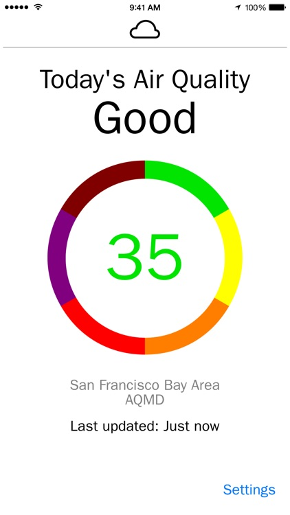 Fresh Air - Real-time air quality info