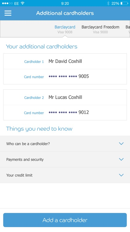 mybarclaycard screenshot-4
