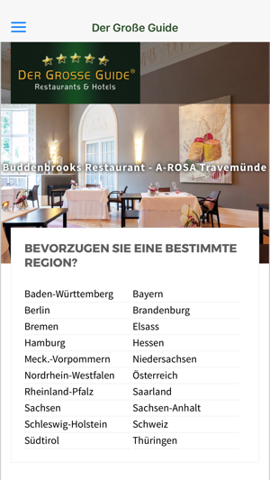 Der Gro Ef Bf Bde Restaurant Und Hotel Guide