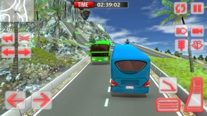 Offroad Bus Simulator: Mountain Bus Driving 3D Screenshot on iOS