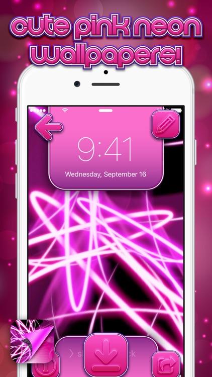 Neon Pink Wallpapers screenshot-3