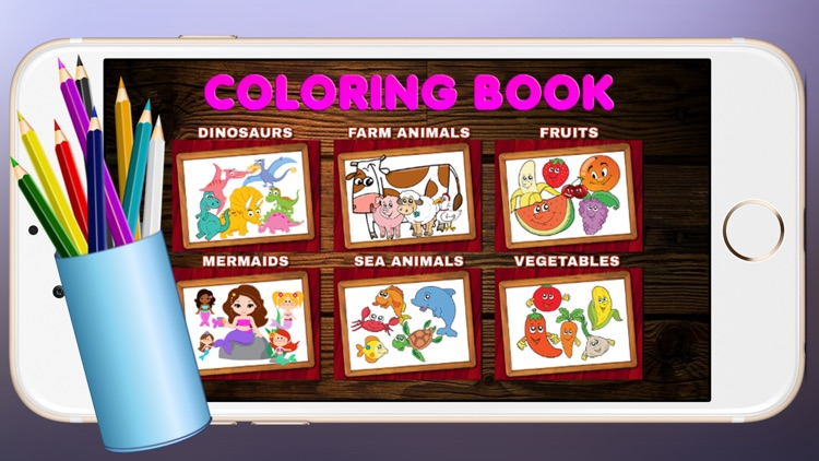 Coloring page funny for kids (coloring is fun)
