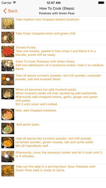 Indian Vegetarian Recipes (INRecipes) screenshot-4