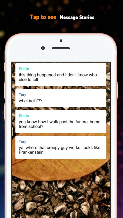 Chat Stories-Reading Text Stories & Scary Books screenshot-3