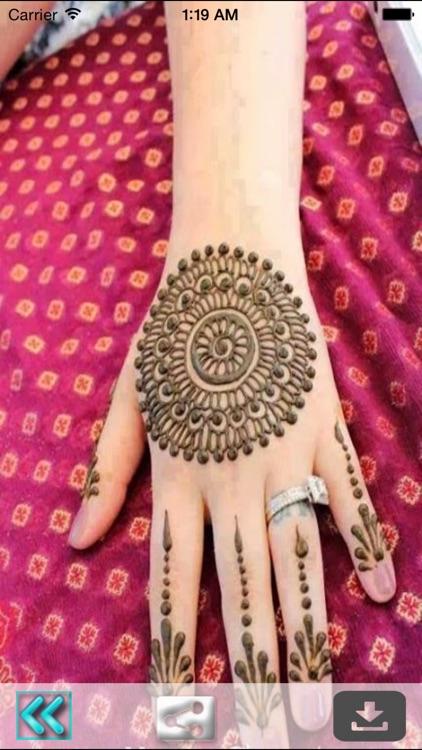 Henna Mehndi Tattoo Designs for Wedding Occasion screenshot-3