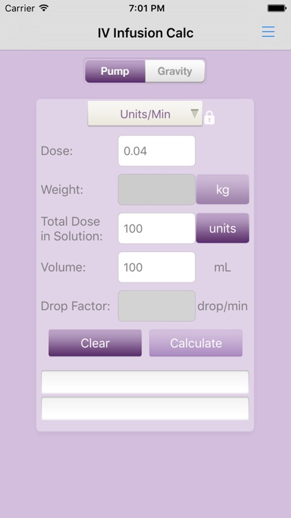 IV Infusion Calculator screenshot-4