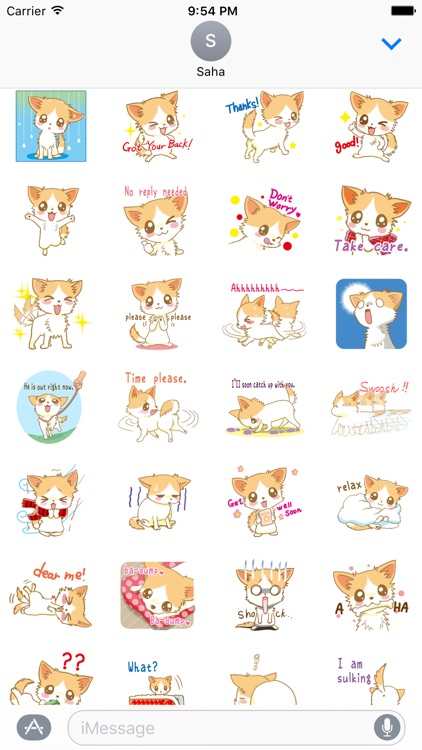 Lovely Cat Stickers Vol2