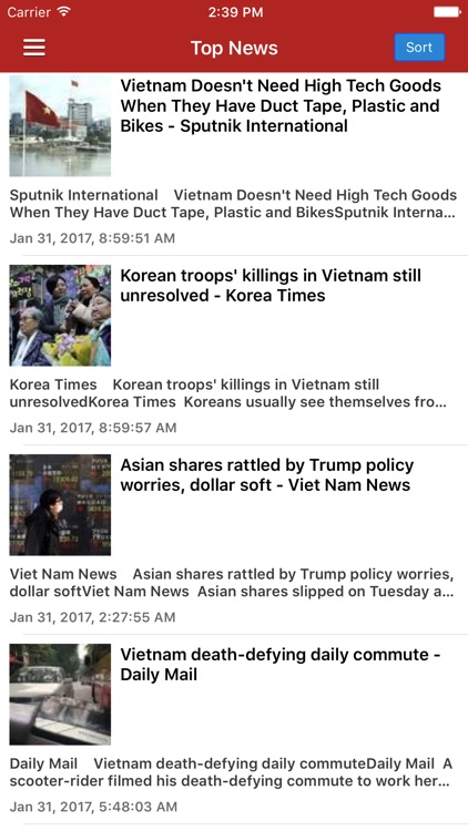 Vietnam News Today & Vietnamese Radio Free Edition screenshot-0