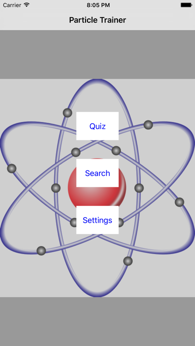 Particle Trainer screenshot one