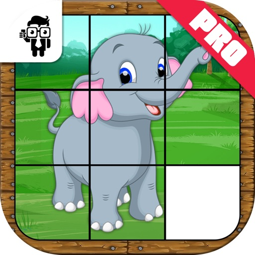 Animal Slide Puzzle Kids Game Pro