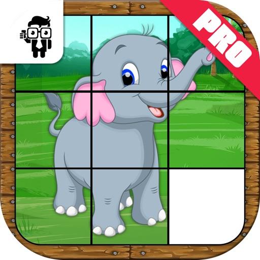 Animal Slide Puzzle Kids Game Pro