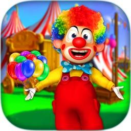 Messy Clown Care & Dress up - Crazy Joker Make Up