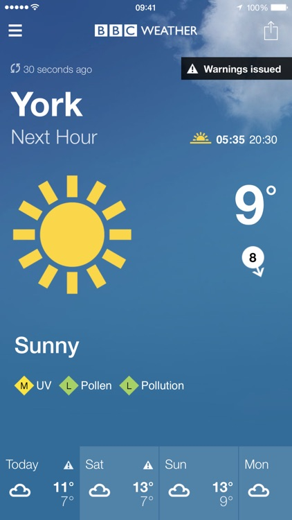 BBC Weather screenshot-0
