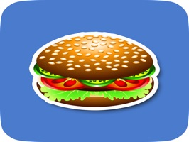 Animated Fast Food Stickers