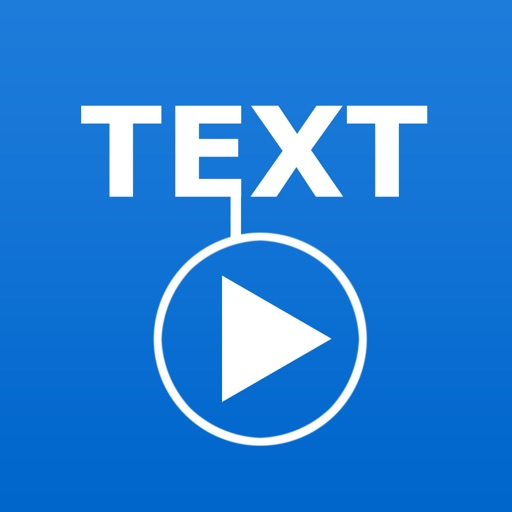 TextVideo - Text on Video