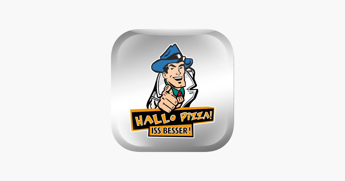 hallo pizza iss besser im app store. Black Bedroom Furniture Sets. Home Design Ideas