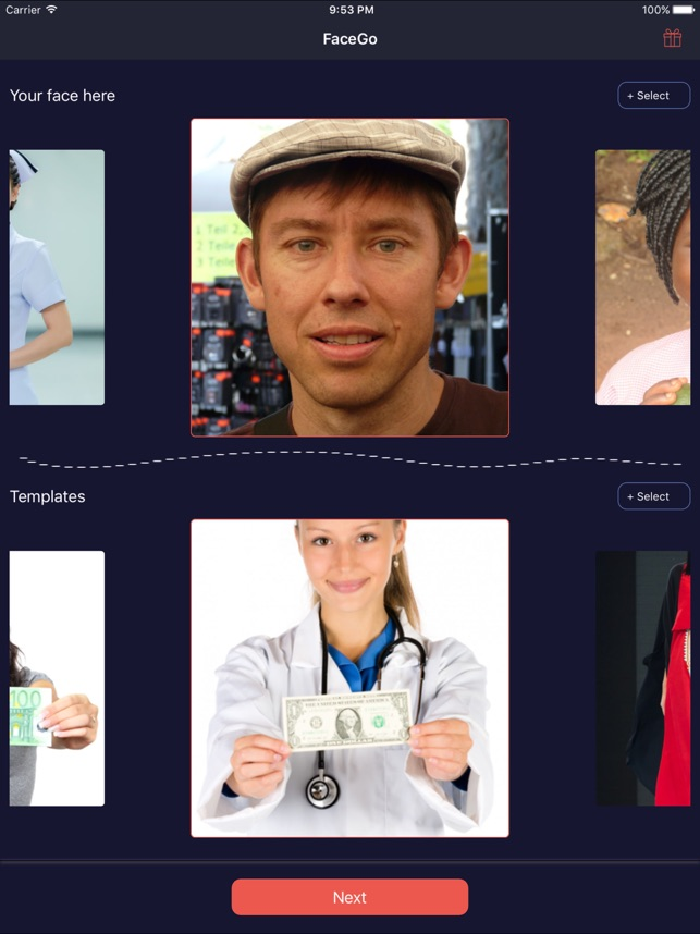 FaceGo: Change,Swap & Morph Face Photo App Screenshot