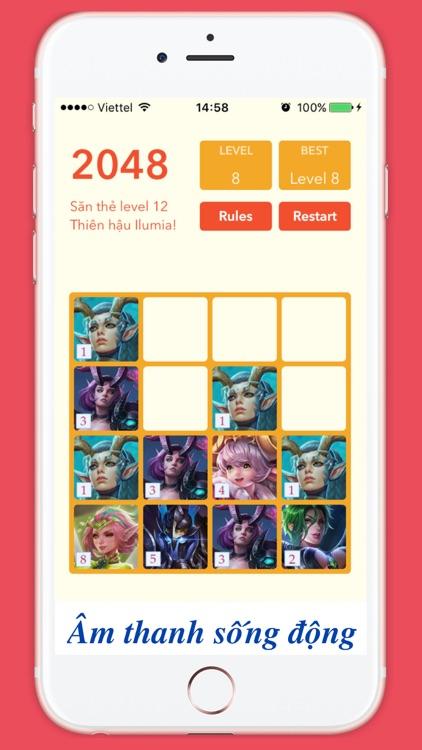 2048 Liên quân mobile cards screenshot-3