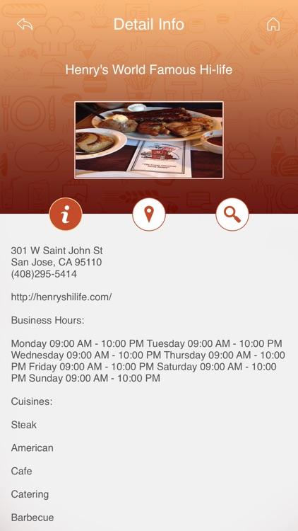 Great App for Man vs Food Restaurants screenshot-3